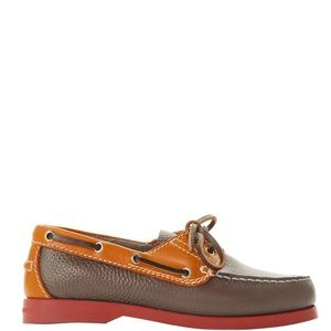 DOONEY & BOURKE PEBBLE LEATHER TOPSIDER BOAT SHOES